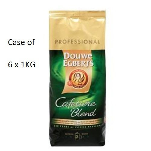 Douwe Egberts Medium Ground Coffee (Cafetiere) (6 X 1Kg) by Douwe Egberts