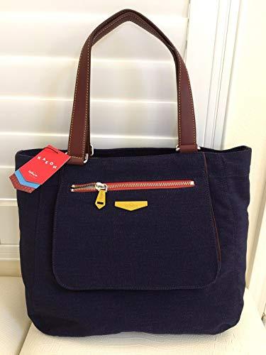 KIPLING Downtown KAEON BLUE Handbag Travel TOTE Bag LARGE ()