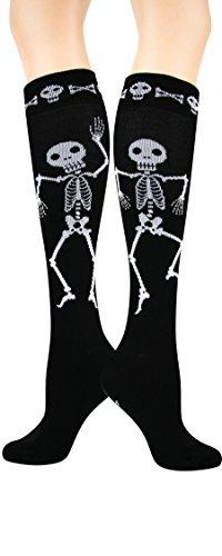 Foot Traffic - Skeleton Knee High ()
