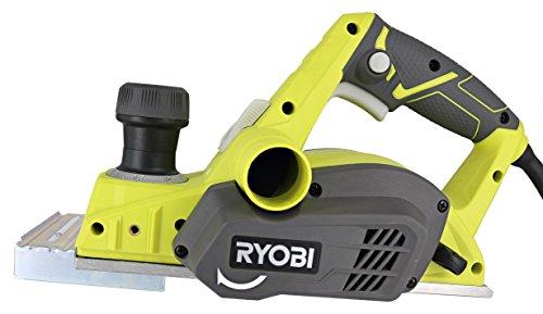 "Ryobi HPL52K 6 Amp 16,500 RPM 3 1/4"" Corded Hand Planer w/ Kickstand and Dual Dust Ports"