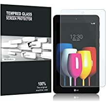LG G Pad X2 8.0 Plus / LG G Pad IV 8.0 Screen Protector, AVIDET Premium Tempered Glass Screen Protector for LG G Pad X2 8.0 Plus / LG G Pad IV 8.0 (9H Hardness 0.3mm)