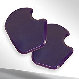 Reusable Gel Dancer\'s Sesamoid Pads 1/4\
