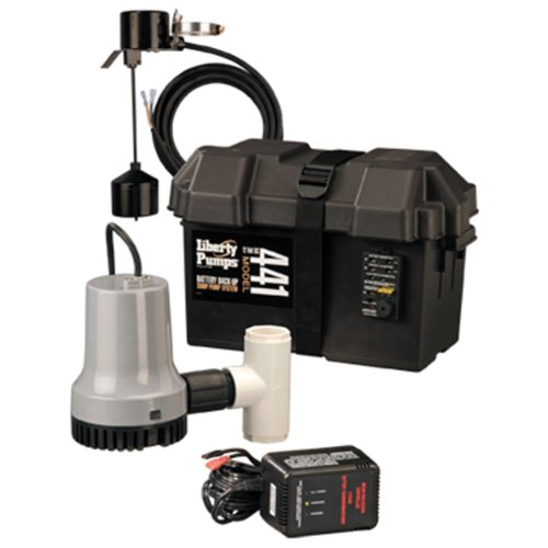 Liberty Pumps 441 Battery Back-Up Emergency Sump Pump System -