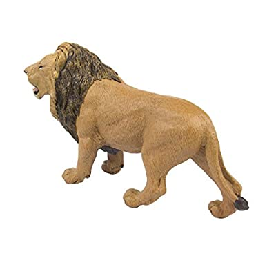 Safari Ltd Wildlife Wonders  Lion  Realistic Hand Painted Toy Figurine Model  Quality Construction from Safe and BPA Free Materials  For Ages 3 and Up  Large: Toys & Games