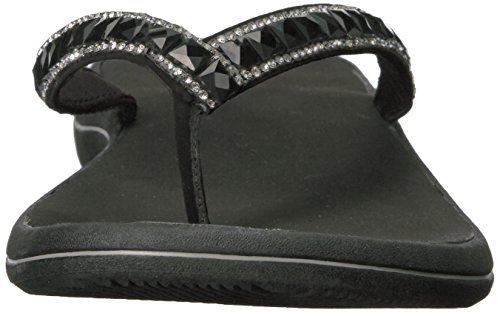 Black Token Street Women's Flip Easy Flop wq17TqR