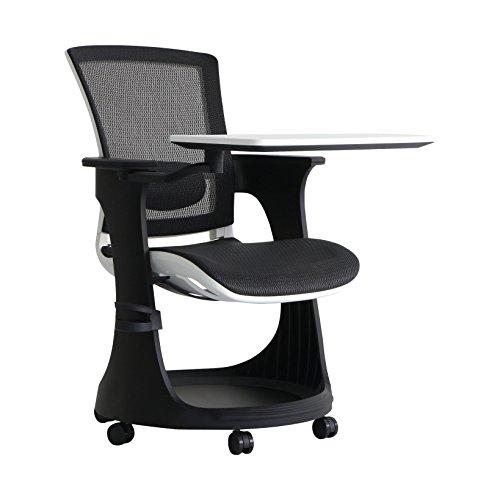 Eurotech Task Chair - Eurotech Seating Eduskate SKTRN-WHBLK Chair, White/Black