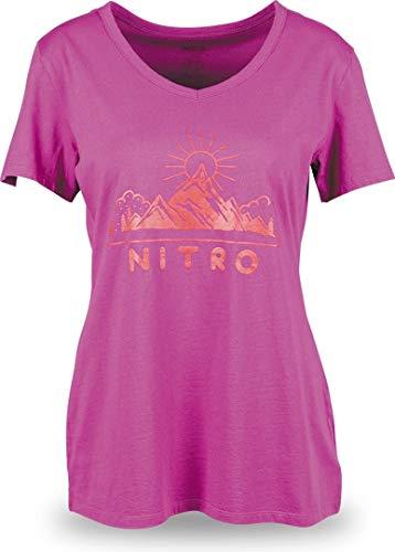 Nitro Mujer Large Aaran Para Rosa Camiseta rnaSF6WTr