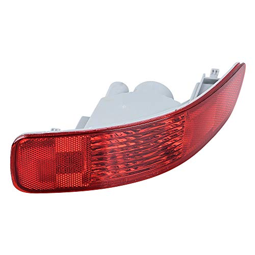 Anzio Right Rear Tail Fog Light Reflector Replacement for 2007-2012 Citroën C-Crosser Outlander Peugeot 4007 OE: 8355A004