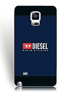 Samsung Galaxy Note 4 Fundas, Hipster Scratch Resistance Fundas, Popular Diesel Brand Logo Graphic Fundass for Fans/Athletic