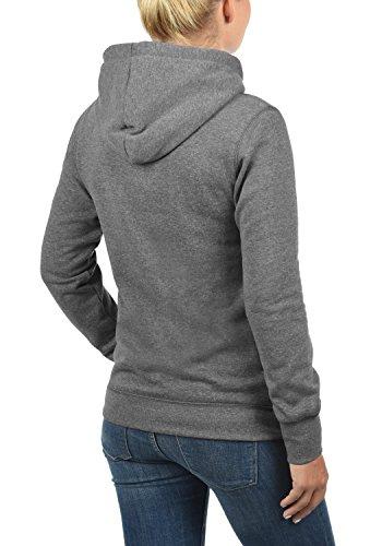 DESIRES Derby Sudadera con capucha para mujer Grey Melange