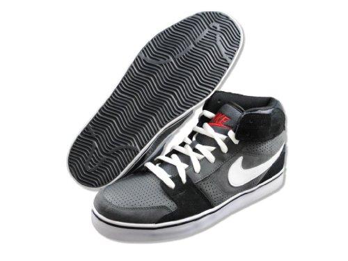 Mens Shoes Ruckus ANTHRACITE Mid Skate Nike SILVER METALLIC qwaI7En