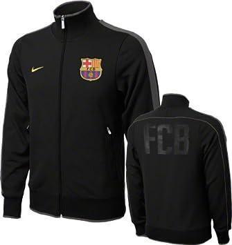new concept 6c22a 7516e Nike ballon de football fC barcelone veste track authentic n98 XL Noir -  Noirjaune