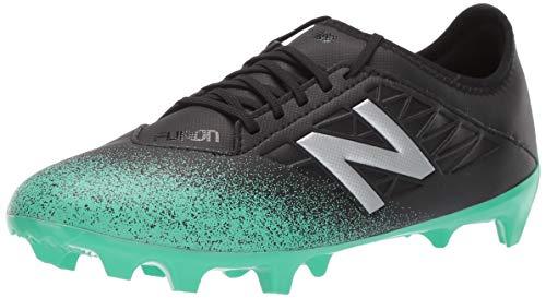 - New Balance Men's Furon V5 Soccer Shoe neon Emerald/Black/Silver 9 D US