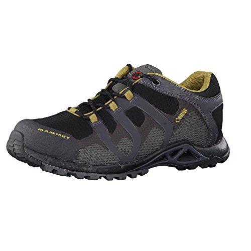 Mammut Comfort Gtx Surround, Zapatos de Low Rise Senderismo para Hombre Black/Graphite