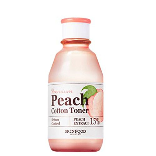 Peach Premium - SKINFOOD Premium Peach Cotton Toner, 20 Count