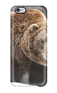 Cheap Durable Protector Case Cover With Grizzly Bears Hot Design For Iphone 6 Plus 2098247K84696215