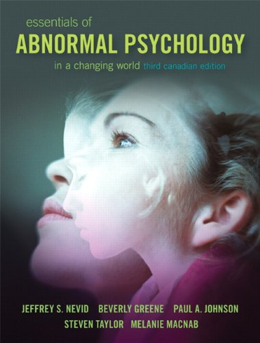 Essentials of Abnormal Psychology, Third Canadian Edition with MySearchLab (3rd Edition)