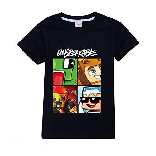 Jongen T-shirts UNSPEAKABLE Shorts Rood Blauw Kinderen Katoen Top Tee