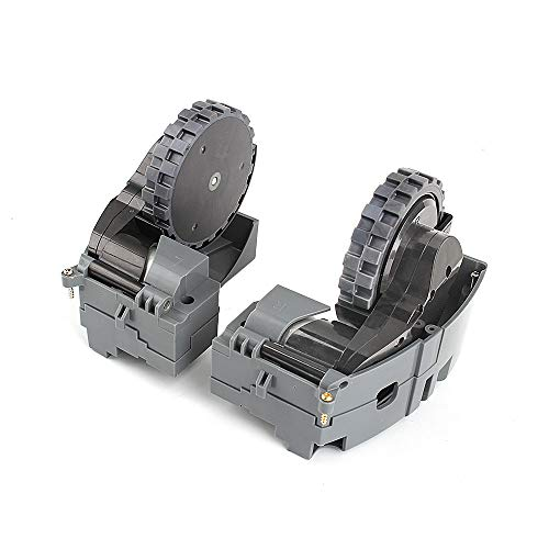 (COLOR TREE Right and Left Drive Wheel Module Pair for iRobot Roomba 500 600 700 800 900 Series Interchangeable 880 980 960 860 864)