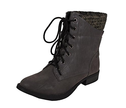 Lustacious Womens Sweater Ankle Boots product image