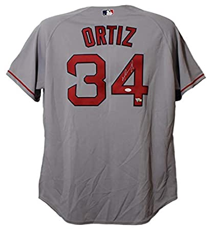 David Ortiz Signed Jersey - Majestic 52 22090 - JSA Certified - Autographed  MLB Jerseys 0ff98394ff0