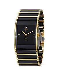 Rado Men's R20847702 Integral Analog Display Swiss Automatic Black Watch