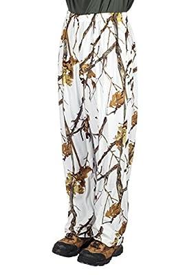 Gamehide Ambush Snow Camo Cover Up Pant Woodlot White