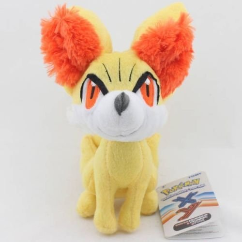 tongrou Cute Pokemon Fennekin Plush Doll Figure Toy Stuffed 8 Inch Xmas Gift