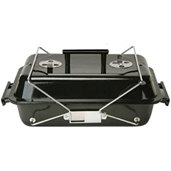 Marsh Allen 30004 Portable Tabletop Charcoal Grill