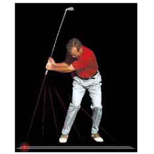 Plane Sight Laser Golf Swing Training Aid (Plane Training Swing)