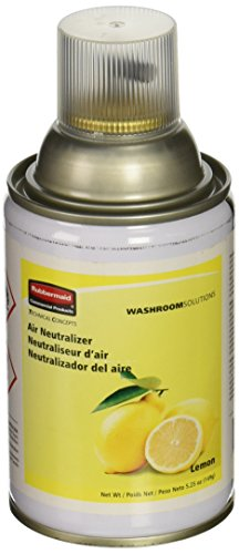Rubbermaid Commercial FG401909 Standard Aerosol Refill for Microburst Metered Air Care Systems, Lemon (Neutralizer Air Refill Aerosol)