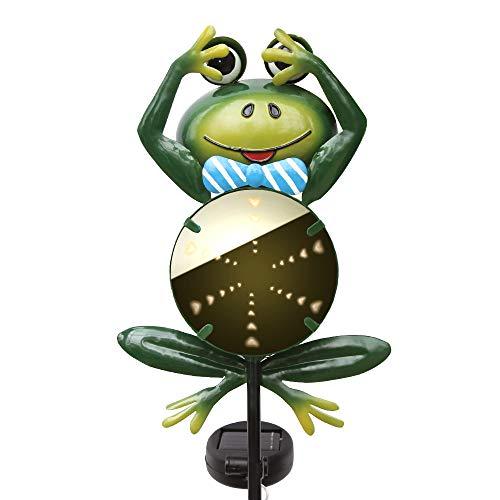 Frog Solar Garden Lights in US - 5