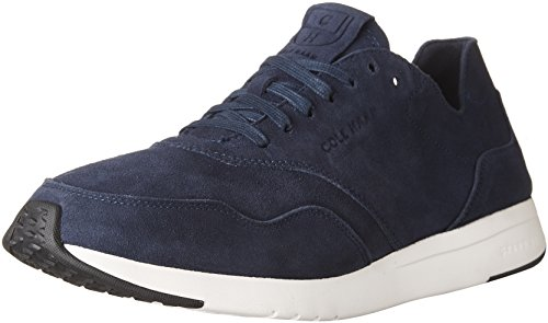 Cole Haan Mens Mens GrandPr Deconstructed Running Sneaker Navy Suede YTW3kJr