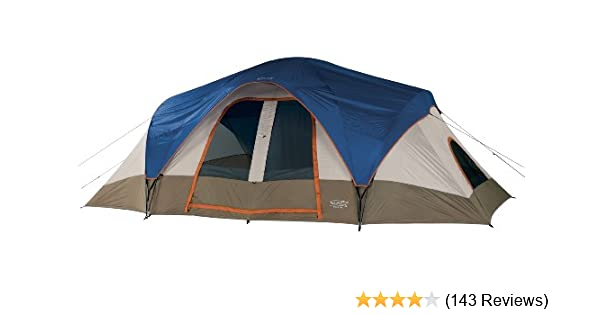 ee694bef1e1 Amazon.com : Wenzel Great Basin Tent - 9 Person : Sports & Outdoors