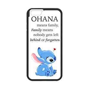 iPhone 6 Case,iPhone 6 (4.7) Case [Lilo & Stitch Ohana] Protective Cover Skin for iPhone 6, Hard Case for iPhone 6 (4.7 inch)