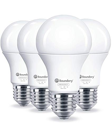 The EBULB Emergency LED Light Bulb by Boundery – Emergency Lights for Home Power Failure – Power Outage Lights…