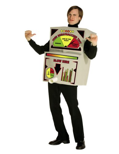 [Rasta Imposta Breathalyzer Costume, Multi-Colored, One Size] (Halloween Breathalyzer Costume)