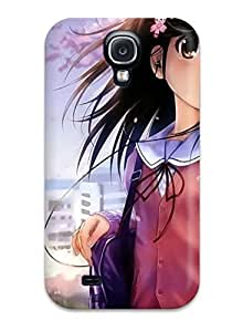 Special Design Back Anime Girl Love1 Phone Case Cover For Galaxy S4