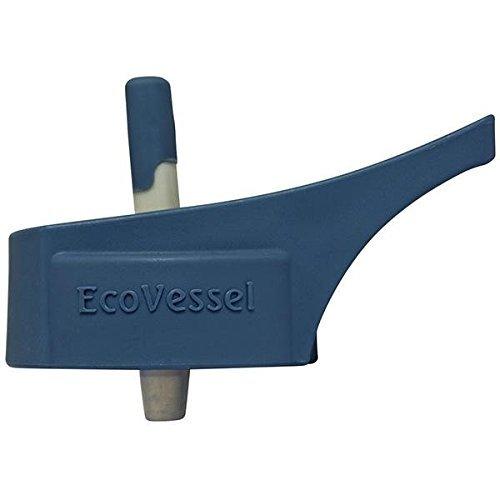 EcoVessel SWGSTRTOP-BS Straw Top Black Shadow Eco Vessel