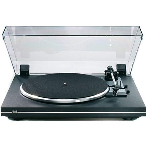Dual CS 435-1 - Tocadiscos con amplificador, color negro: Amazon ...