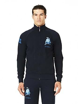 Automobili Lamborghini Mens Bull LXIII Sweatshirt XS Dark Blue