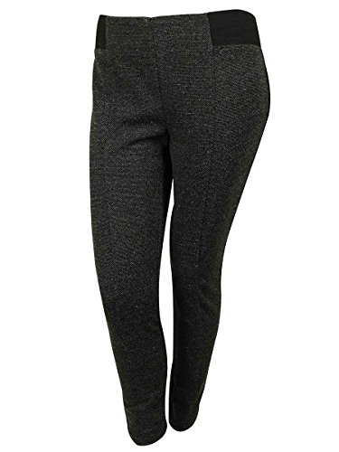 Style & Co Women's Stretch Flecked Skinny Pants (24W, Speckle Dot)