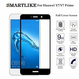 SmartLike Huawei Y7 Prime 3D 9H Curve Edge to Edge Full: Amazon in