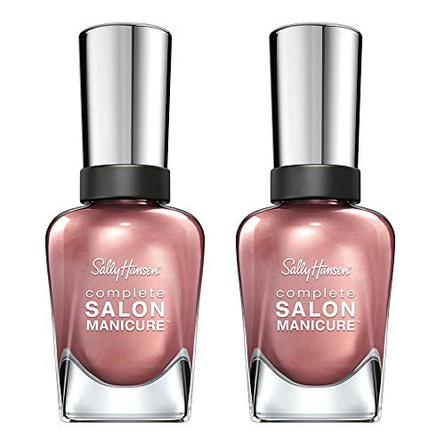 Raisin Color - Sally Hansen Complete Salon Manicure Raisin The Bar, 2 Count