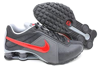 84ba08079c7 NIKE Shox Conundrum SI Men s Running Shoes - Black Sport Red Stealth  Anthracite