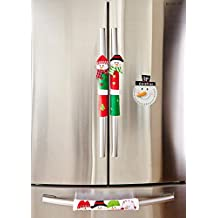 iEnjoyware Snowman Kitchen Appliance Handle Covers & Snowman Countdown Calendar - Christmas Decoration Idea