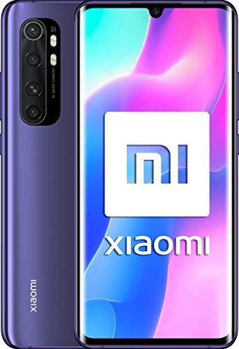 Xiaomi Mi Note 10 Lite (Pantalla FHD+ 6.47″, 6GB + 64GB; Cámara 64MP, Snapdragon 730G, Dual 4G, 5260mAh con Carga rápida 30W, Android 10) Púrpura [Versión ES/PT]