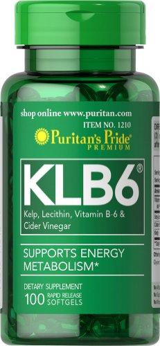 Пуританской Гордость KLB6 доминиканские Комплекс-100 Softgels