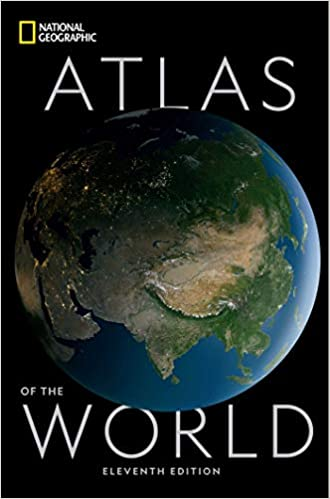 Book's Cover of National Geographic Atlas of the World Eleventh Edition (World Atlas) (Inglés) Tapa dura – 1 octubre 2019