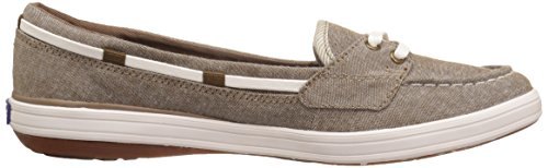 Keds Dames Glimmer Chambray Mode Sneaker Walnoot